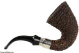 Brebbia First Calabash Plum Tobacco Pipe - Rustic Right Side
