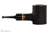OMS Pipes Poker Tobacco Pipe - Brass Band Right Side