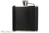 Rattray's Black Leather Flask - 5 oz Right Back