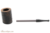 Nording Compass Brown Rustic Tobacco Pipe - TP4600 Apart