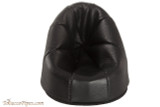 Martin Wess Leather 1 Pipe Stand - Black Leather