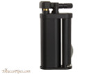 Pearl Eddie Black Matte Pipe Lighter with Tools Right Side