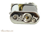 Pearl Eddie Black & Silver Pipe Lighter with Tools Bottom