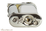 Pearl Eddie White & Silver Pipe Lighter with Tools Bottom