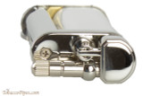 Pearl Eddie White & Silver Pipe Lighter with Tools Top