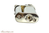 Pearl Eddie Silver Stripe Pipe Lighter with Tools Bottom