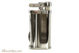 Pearl Eddie Silver Stripe Pipe Lighter with Tools Right Side
