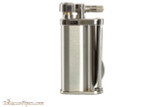 Pearl Eddie Chrome Pipe Lighter with Tools Right Side