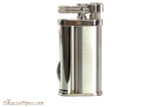 Pearl Eddie Chrome Pipe Lighter with Tools Left Side