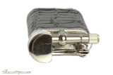 Pearl Stanley Black Leather Pipe Lighter Top