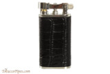 Pearl Stanley Black Leather Pipe Lighter Right Side