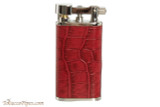 Pearl Stanley Red Leather Pipe Lighter Right Side