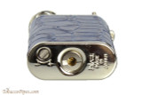 Pearl Stanley Blue Leather Pipe Lighter Bottom