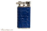 Pearl Stanley Blue Leather Pipe Lighter