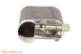 Pearl Stanley Burgundy Leather Pipe Lighter Top