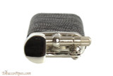Pearl Stanley Black Small Textured Leather Pipe Lighter Top