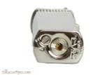 Pearl Bolbo Silver Stripe Pipe Lighter Bottom