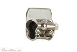 Pearl Bolbo Chrome Satin Pipe Lighter Top