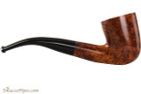 Brigham Mountaineer 347 Tobacco Pipe - Bent Dublin Smooth Right Side