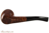 Brigham Algonquin 263 Tobacco Pipe - Bent Acorn Smooth Bottom