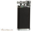 IM Corona Old Boy Black and Chrome Pipe Lighter Right Side
