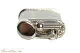 IM Corona Old Boy Rhodium Pipe Lighter with Pipe Shapes Top