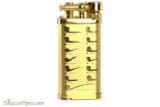 IM Corona Old Boy Gold Pipe Design Pipe Lighter Right Side