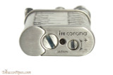 IM Corona Old Boy Silver with Pipe Shapes Pipe Lighter Bottom