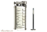 IM Corona Old Boy Silver with Pipe Shapes Pipe Lighter Tamp