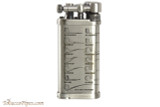IM Corona Old Boy Silver with Pipe Shapes Pipe Lighter Right Side