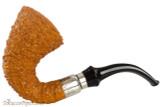 Brebbia First Calabash Tan Rustic Tobacco Pipe