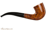 Brigham Klondike 47 Tobacco Pipe - Bent Dublin Smooth Right Side