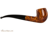 Brigham Klondike 65 Tobacco Pipe - Bent Billiard Smooth Right Side