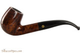 Brigham Klondike 23 Tobacco Pipe - Bent Billiard Smooth