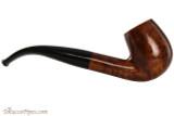 Brigham Klondike 23 Tobacco Pipe - Bent Billiard Smooth Right Side