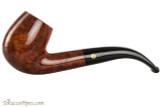 Brigham Klondike 24 Tobacco Pipe - Bent Billiard Smooth