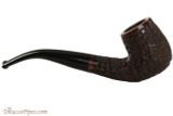 Brigham Voyageur 123 Tobacco Pipe - Bent Billiard Rustic Right Side
