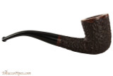 Brigham Voyageur 147 Tobacco Pipe - Bent Dublin Rustic Right Side