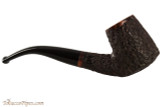 Brigham Voyageur 184 Tobacco Pipe - Volcano Rustic Right Side