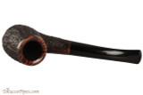 Brigham Voyageur 184 Tobacco Pipe - Volcano Rustic Top
