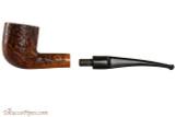 Capri Gozzo 54 Tobacco Pipe - Bent Pot Rustic Apart