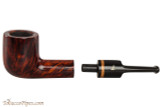 Lorenzetti Avitus 03 Tobacco Pipe - Billiard Smooth Apart