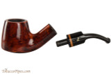 Lorenzetti Avitus 84 Tobacco Pipe - Bent Pot Smooth Apart