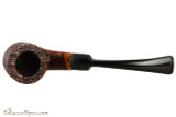 Capri Gozzo 23 Tobacco Pipe - Bent Billiard Rustic Top