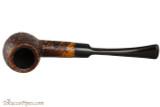 Capri Gozzo 13 Tobacco Pipe - Bent Egg Rustic Top