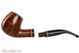 Lorenzetti Constantine 24 Tobacco Pipe - Bent Billiard Smooth Apart