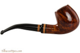 Lorenzetti Constantine 24 Tobacco Pipe - Bent Billiard Smooth Right Side