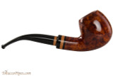 Lorenzetti Constantine 23 Tobacco Pipe - Bent Apple Smooth Right Side