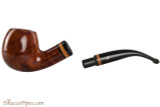 Lorenzetti Constantine 23 Tobacco Pipe - Bent Apple Smooth Apart