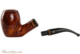 Lorenzetti Constantine 27 Tobacco Pipe - Bent Egg Smooth Apart